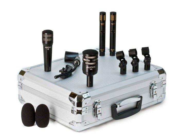 Set Microphone Batterie Audix